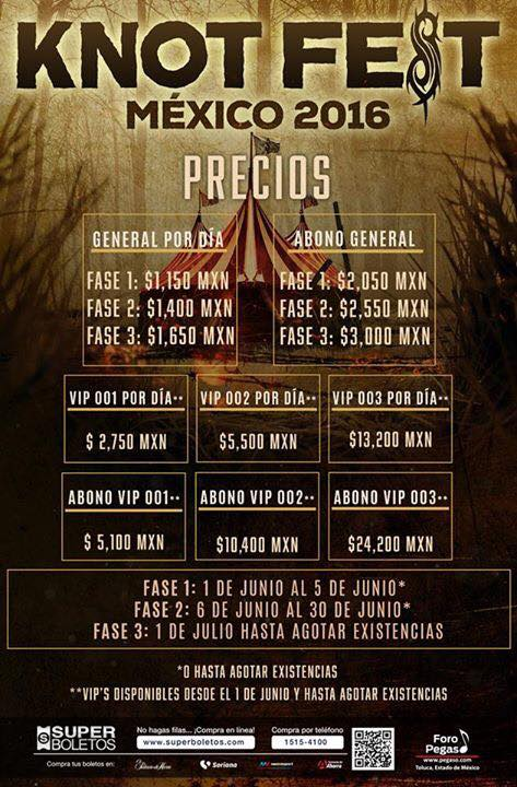 Knotfest_precios