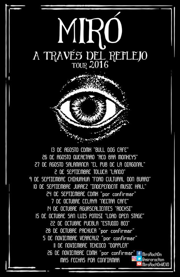 Miró gira 2016