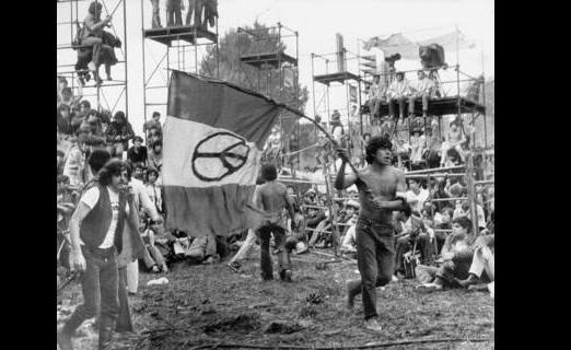 Imagen del Festival Avándaro de 1971 FOTO Archivo