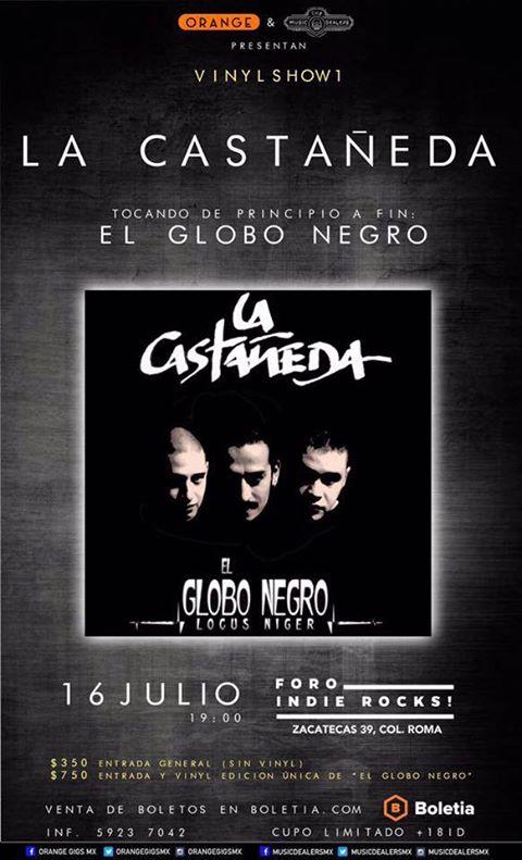 La Castañeda - El Globo Negro