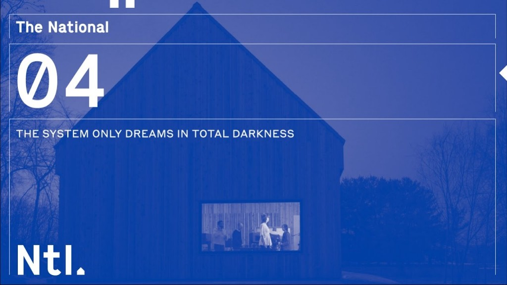 The System Only Dreams In Total Darkness