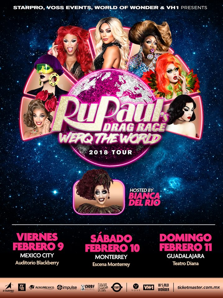 rupaul's drag reace: werq the world tour