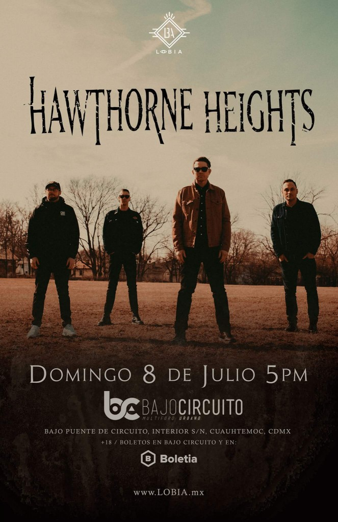 Hawthorne Heights flyer 2