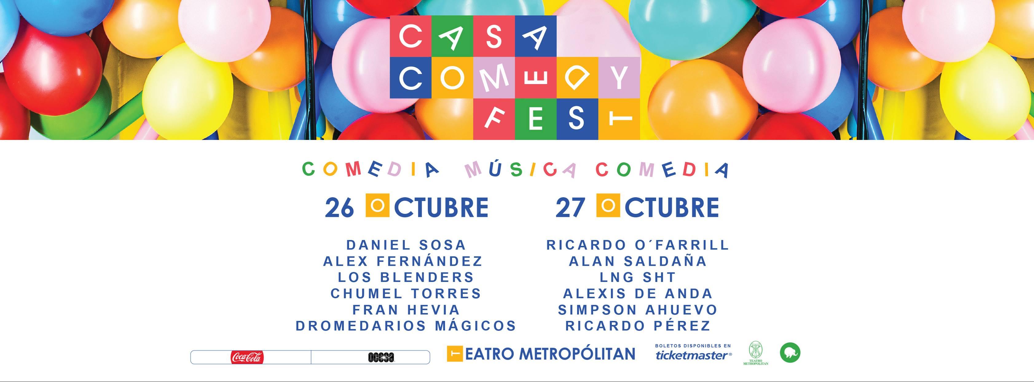 Casa Comedy Fest body