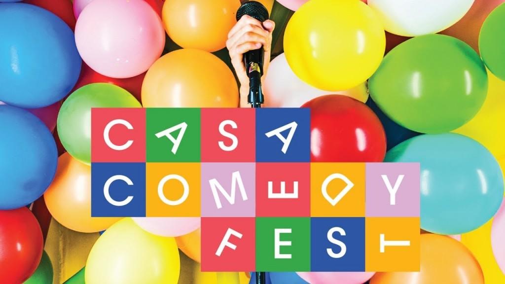 Casa Comedy Fest header
