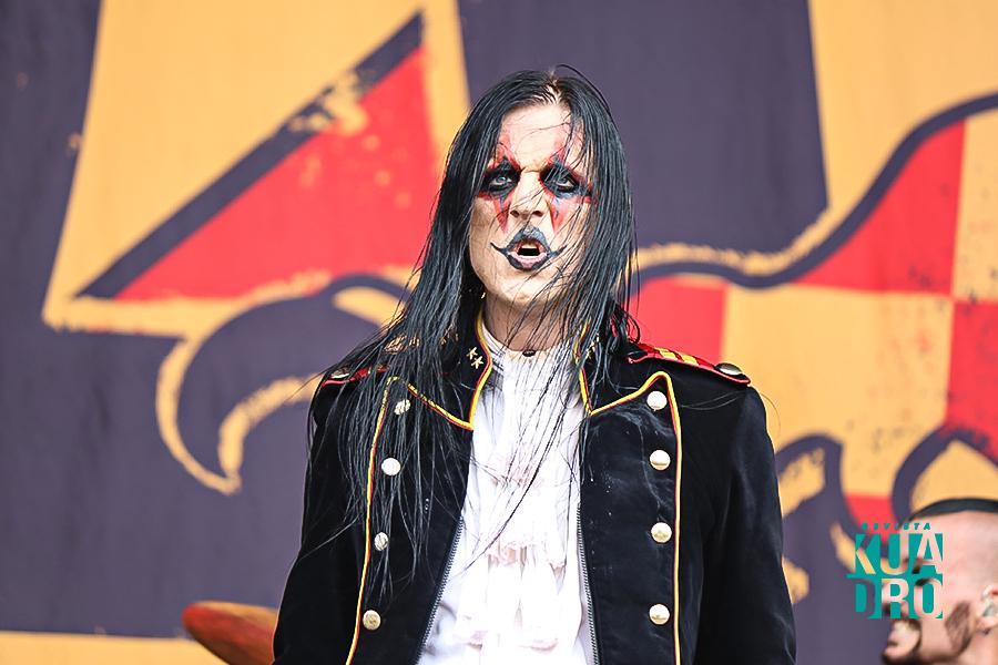 Johannes Eckerström de Avatar agradeció el buen recibimiento en su primera presentación en México.