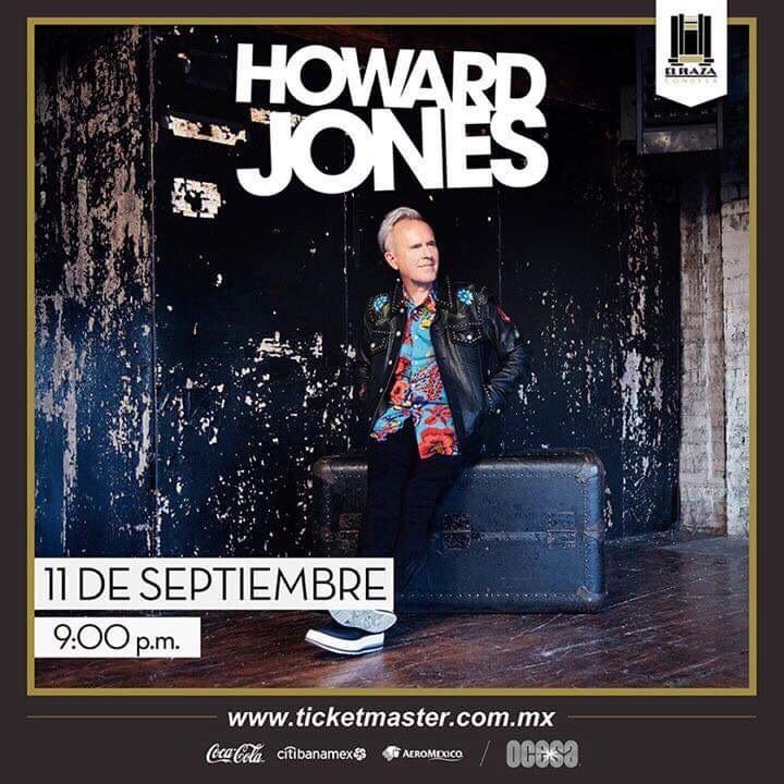 flyer howard jones