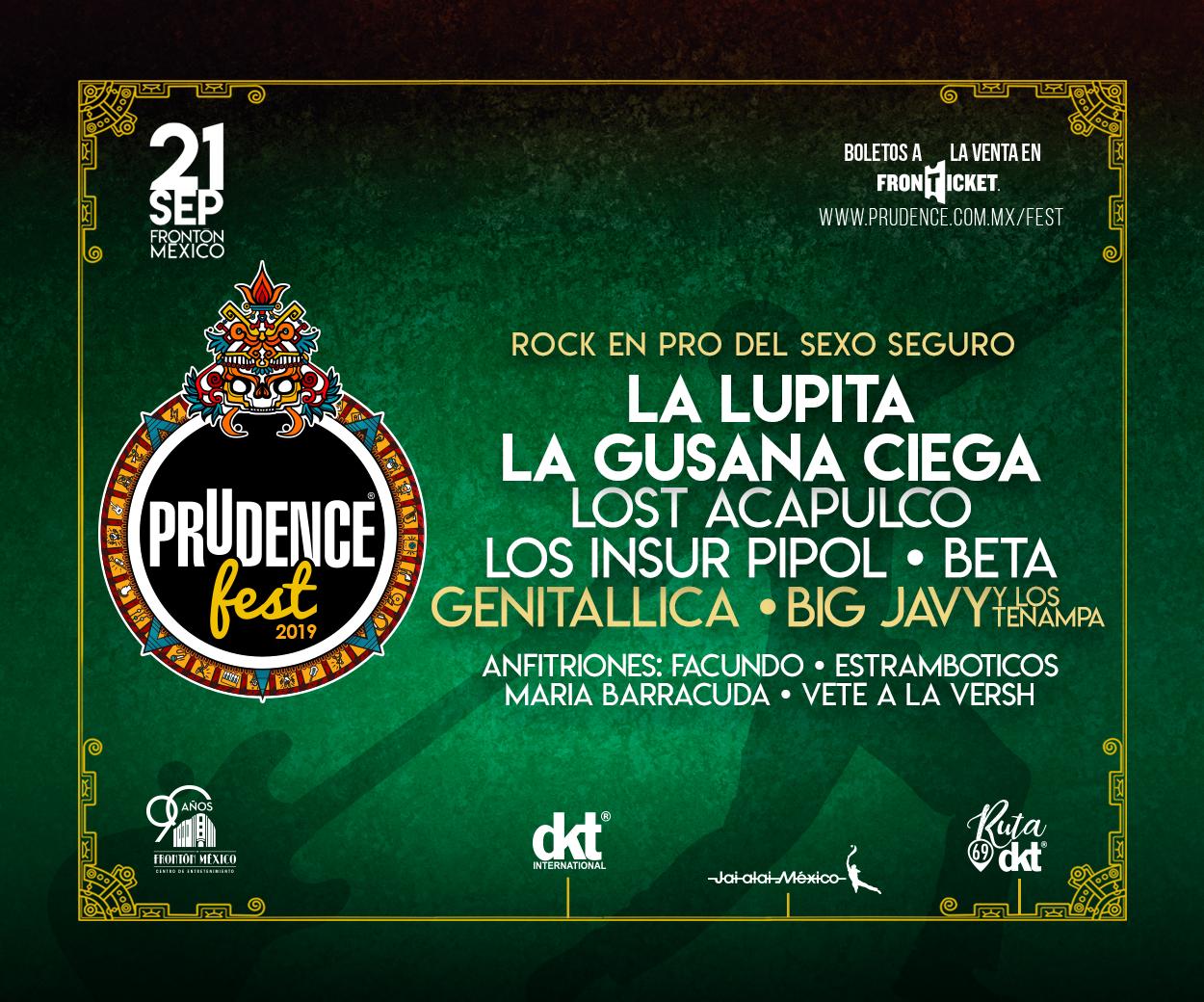 Cartel Oficial Prudence Fest