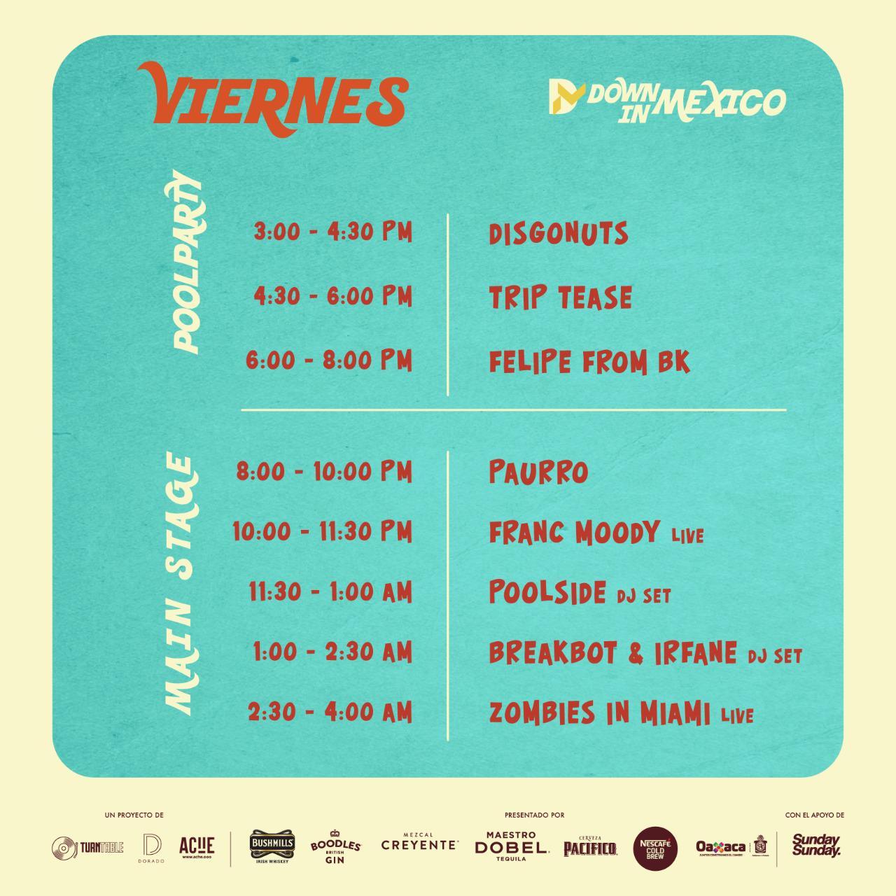 down in mx viernes pt 1